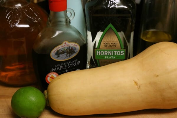 Tequila Glazed Butternut Squash - Ingredients | CookingInStilettos.com