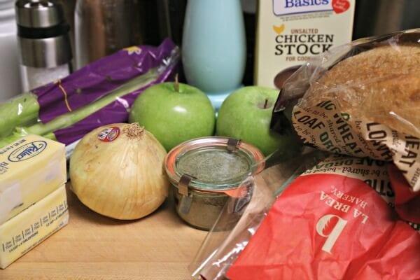Thanksgiving Stuffing Recipe - Ingredients | CookingInStilettos.com