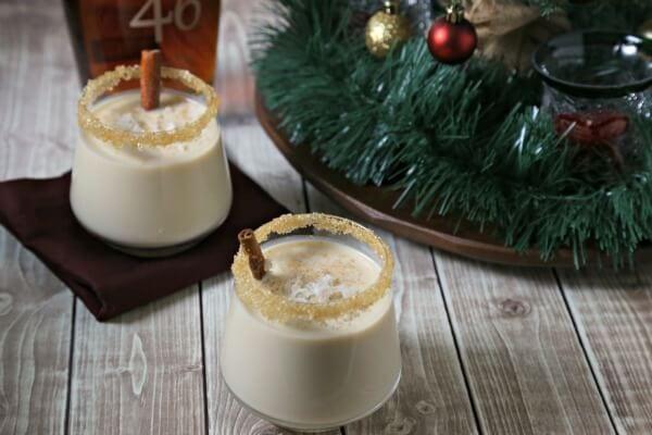 Aloha Style Homemade Eggnog | CookingInStilettos.com