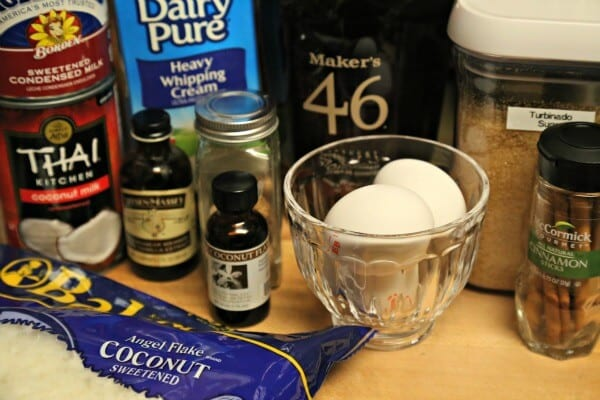 Aloha Style Homemade Eggnog - Ingredients | CookingInStilettos.com