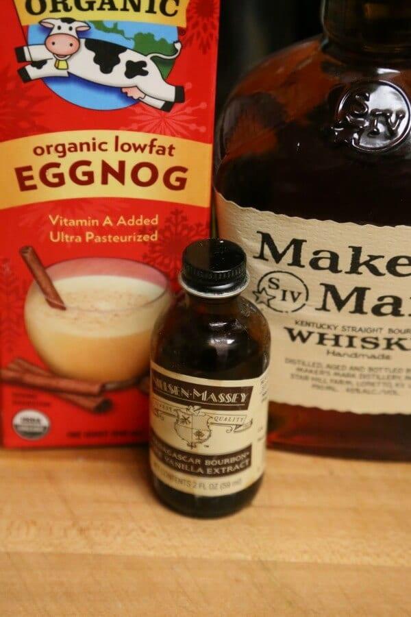 Bourbon Soaked Eggnog Cake - Trifecta of Flavor   CookingInStilettos.com
