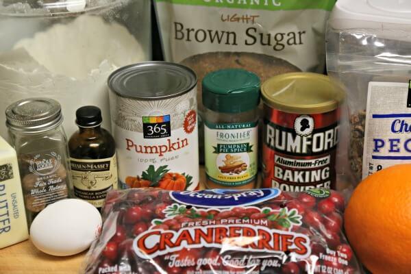 Cranberry Pumpkin Cookies - Ingredients | CookingInStilettos.com