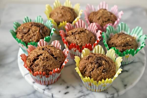 Mocha Muffins | CookingInStilettos.com