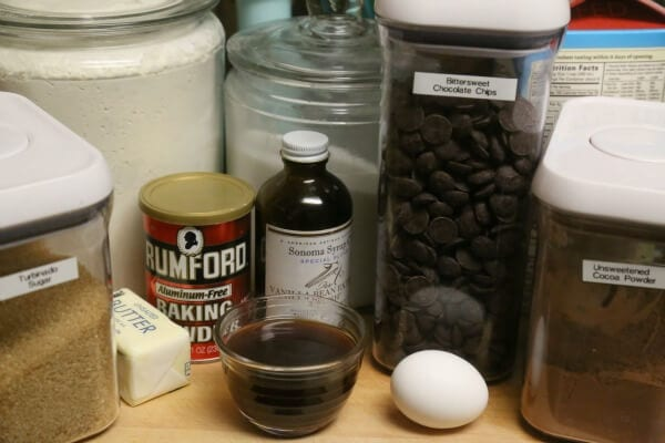 Mocha Muffins - Ingredients   CookingInStilettos.com