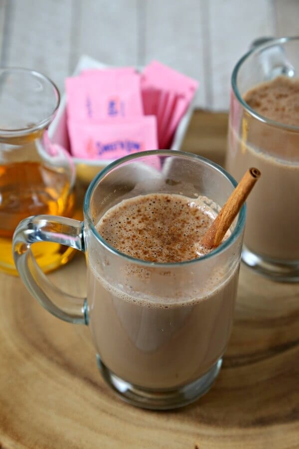Curl Up With A Skinny Homemade Hot Chocolate