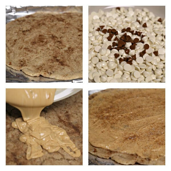 Snickerdoodle Cookie Bark - Assembly | CookingInStilettos.com