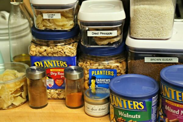 Tropical Spiced Mixed Nuts - Ingredients | CookingInStilettos.com