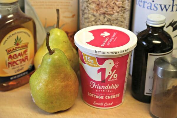 Cinna-Pear Smoothie - Ingredients | CookingInStilettos.com