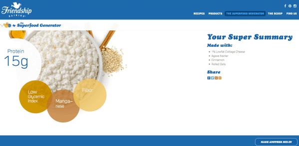 Friendship Dairies Superfood Generator Results | CookingInStilettos.com