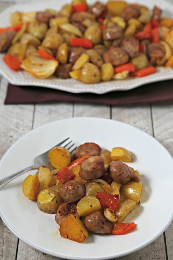 Roasted Potatoes, Chicken Sausage And Peppers Recipes — Dishmaps