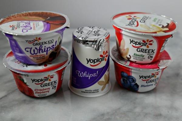 Lemon Berry Yogurt Crunch Parfait - Yoplait Yogurt | CookingInStilettos.com
