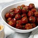 Southern Meatballs aka Grape Jelly Meatballs