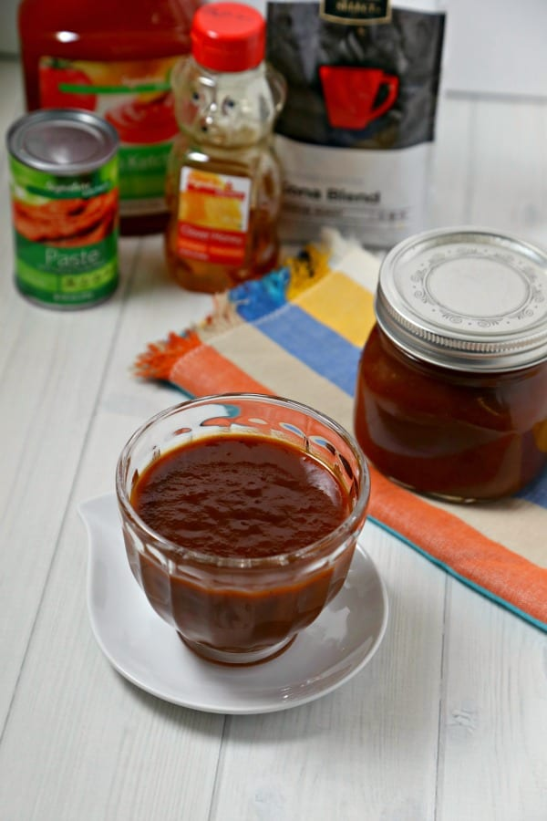 This Oven Baked Chicken with Kona Coffee Barbecue Sauce from CookingInStilettos.com is what's for dinner. Tender chicken is simmered in a flavorful Kona coffee barbecue sauce that is made with just a few pantry ingredients. This will be a family favorite recipe   @CookInStilettos
