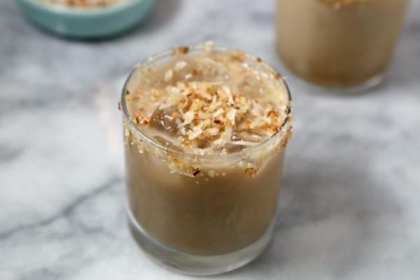 The Toasty Coconut Cocktail | CookingInStilettos.com