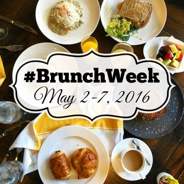 #BrunchWeek 2016 |CookingInStilettos.com