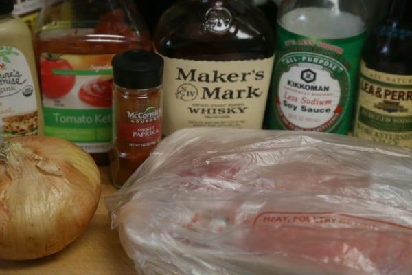 Bourbon Slow Cooked Pulled Pork - Ingredients | CookingInStilettos.com
