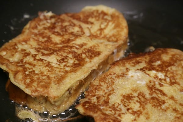 Cannoli French Toast - Golden Brown French Toast | CookingInStilettos.com