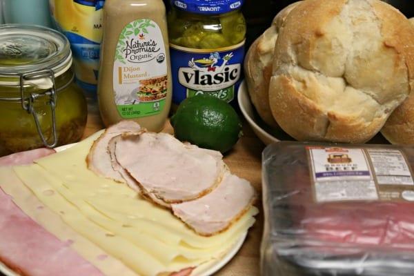Cuban Style Burger - Ingredients | CookingInStilettos.com