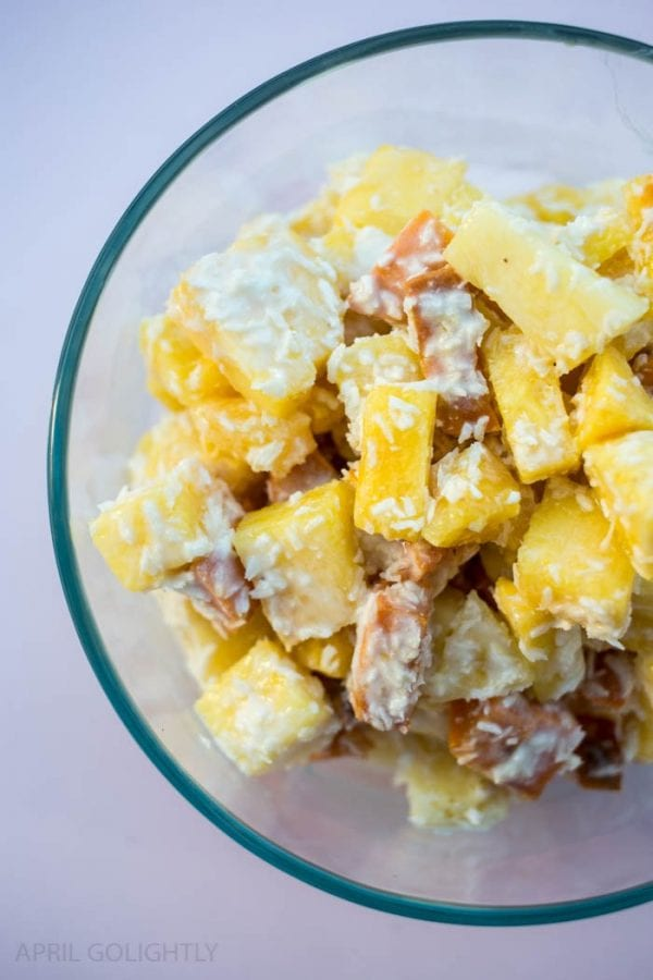 Delicious Dishes Recipe Party #29 | Easy Pina Colada Salad