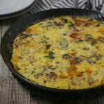 Easy One Pan BLT Frittata #BaconMonth