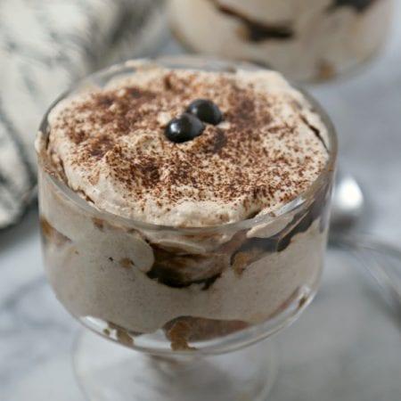 Chocolate Mocha Tiramisu Parfaits For #NationalCoffeeDay