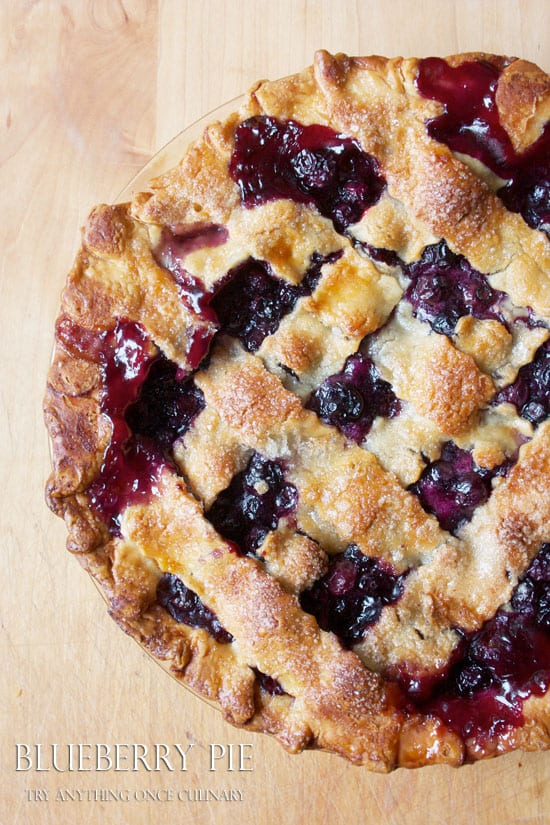 Delicious Dishes Recipe Party - Favorite Desserts - Blueberry Pie | CookingInStilettos.com