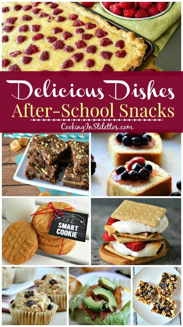 Delicious Dishes Recipe Party #33 - After School Snacks | CookingInStilettos.com