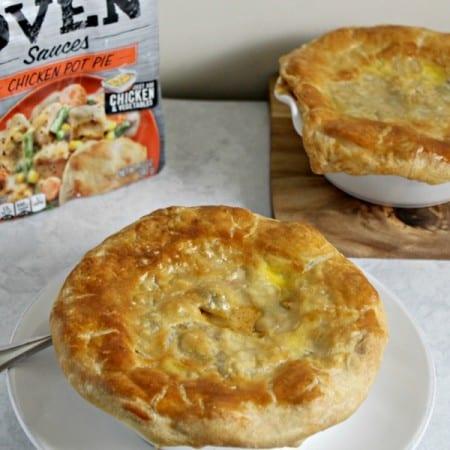 Mini Southwestern Chicken Pot Pies Make Dinner Easy #CampbellsSauces #Client