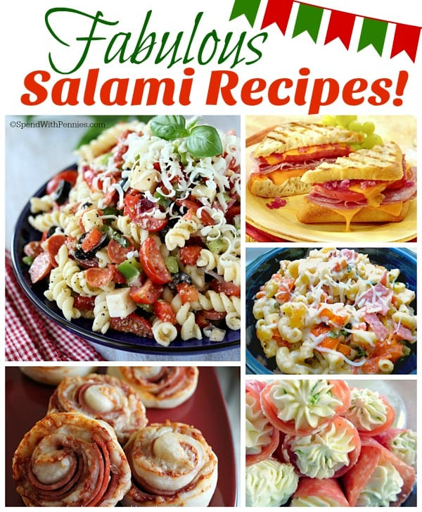 Delicious Dishes Recipe Party - Pumpkin Recipes - 9 Fabulous Salami Recipes from Daily Holiday Blog | CookingInStilettos.com