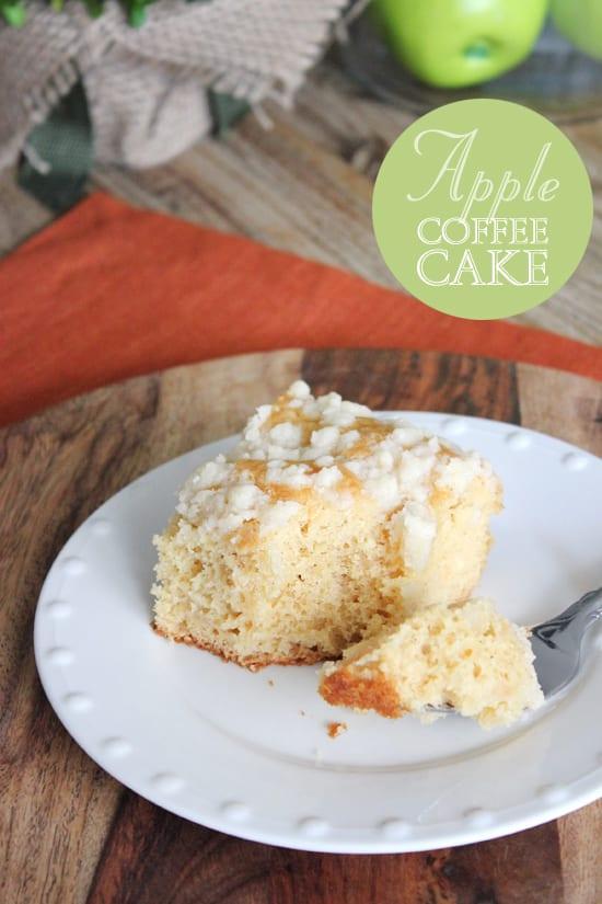 Delicious Dishes Recipe Party - Apple Recipes - Apple Coffee Cake | CookingInStilettos.com