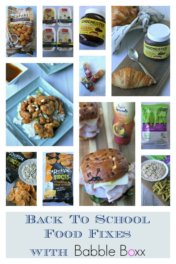 Back To School Food Fixes with Babble Boxx | CookingInStilettos.com