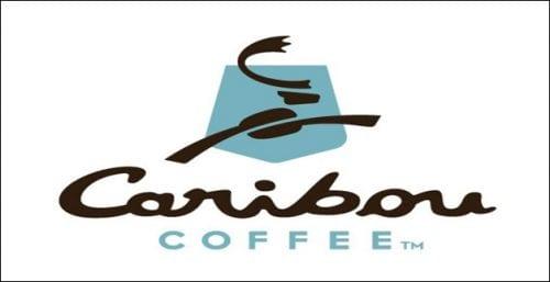 Caribou Coffee Logo | CookingInStilettos.com