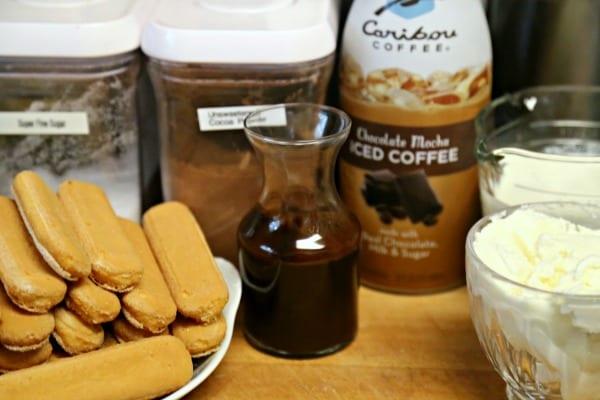 Chocolate Mocha Tiramisu Parfaits - Ingredients   CookingInStilettos.com