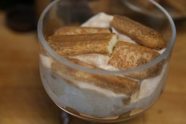 Chocolate Mocha Tiramisu Parfaits- Layering   CookingInStilettos.com