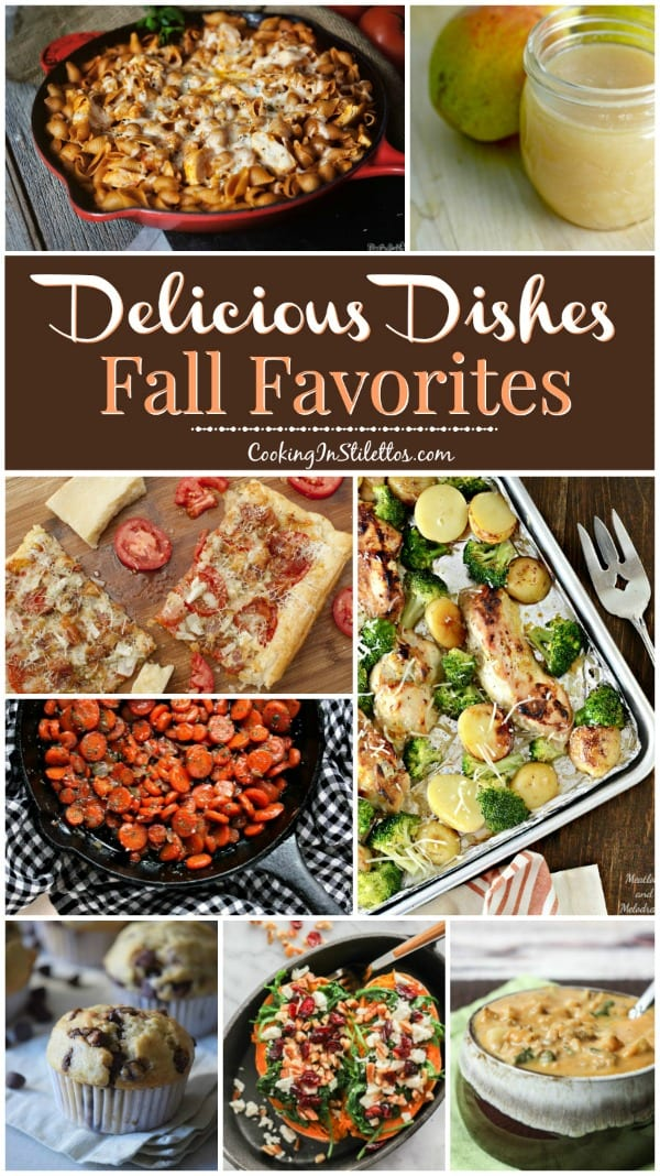 A delicious collection from CookingInStilettos.com spotlighting our favorite fall recipes and our Delicious Dishes Recipe Party!