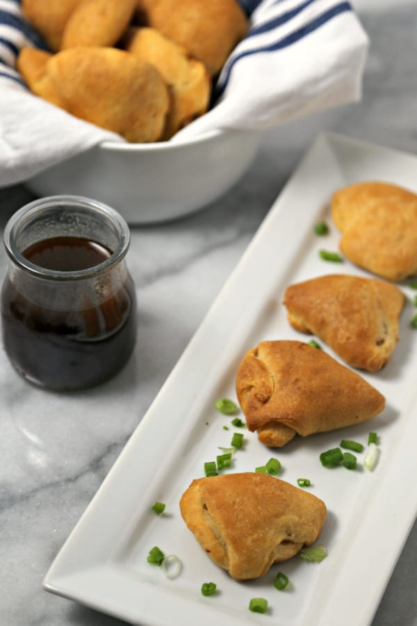 Kalua Pork Bites with Homemade Pineapple Teriyaki Sauce | CookingInStilettos.com