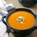 Spicy Harvest Butternut Squash Soup | CookingInStilettos.com