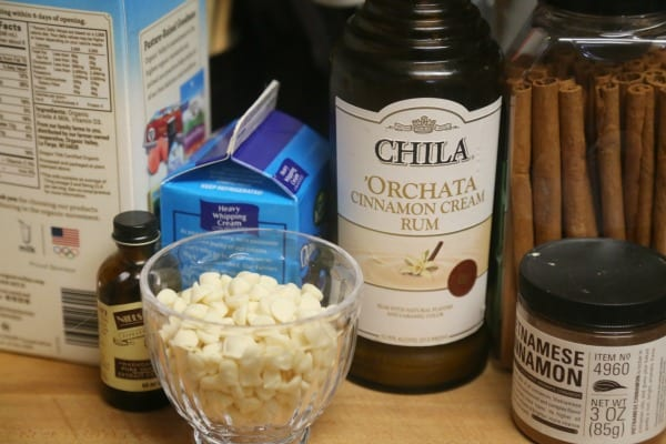 Chila 'Orchata White Hot Chocolate - Ingredients | CookingInStilettos.com