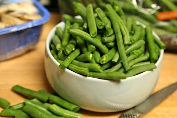Stovetop Green Bean Casserole - Green Beans | CookingInStilettos.com