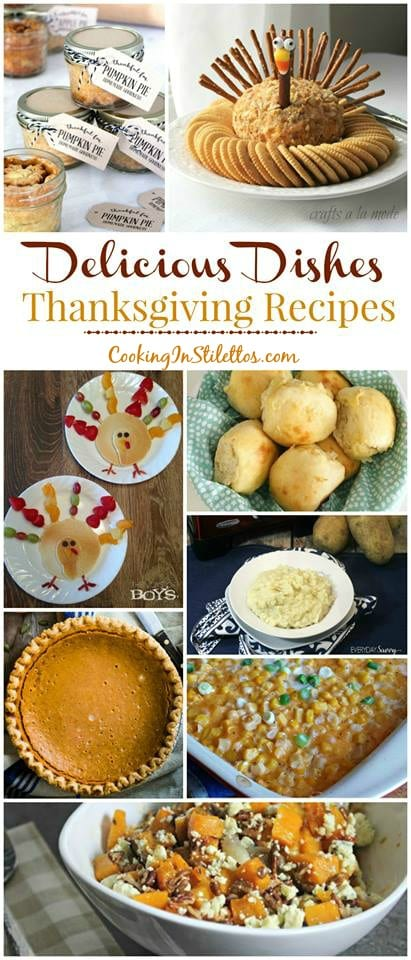 A delicious collection of recipes from CookingInStilettos.com spotlighting Thanksgiving recipes perfect for your holiday table! Come share your favorite recipe with us!