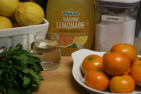 Tangerine Mojito - Ingredients | CookingInStilettos.com