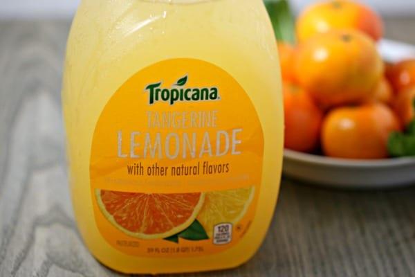 Tangerine Mojito - Tropicana Tangerine Lemonade | CookingInStilettos.com