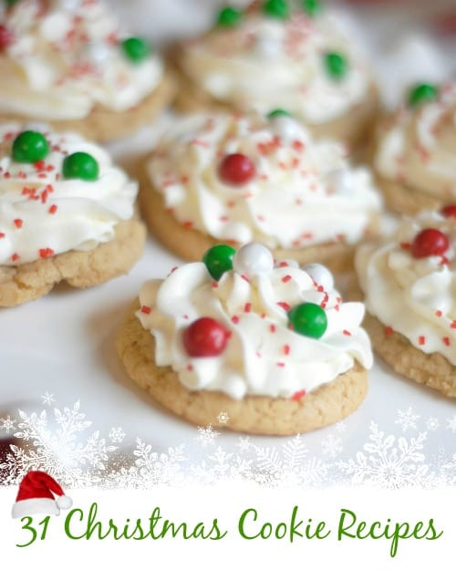 Delicious Dishes Recipe Party - Christmas Breakfast Recipes - 31 Christmas Cookie Recipes from Mommy Hates Cooking | CookingInStilettos.com