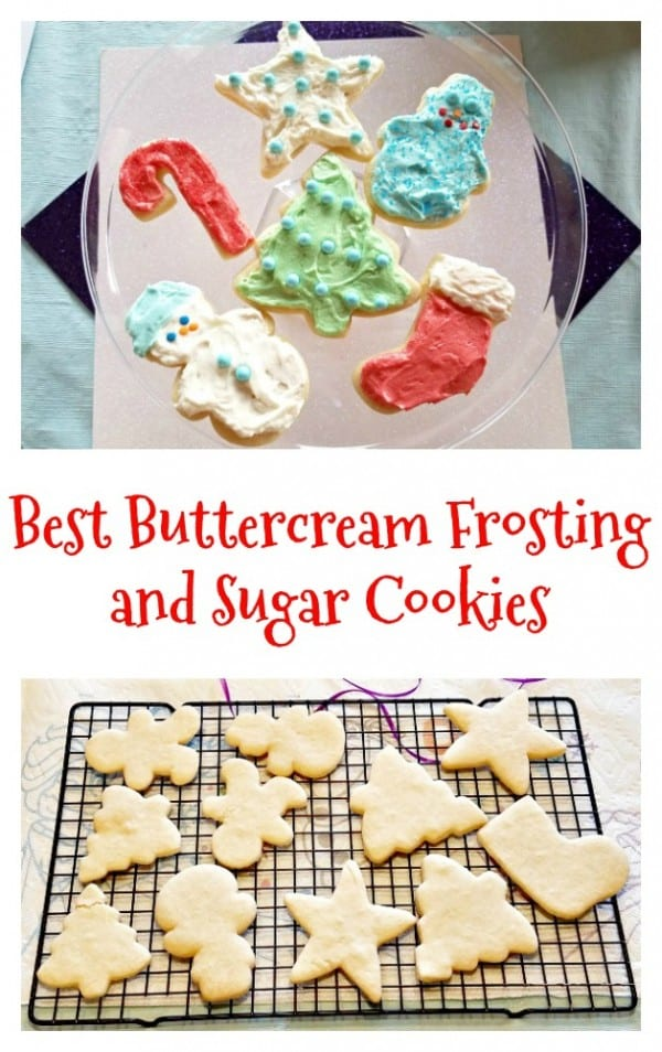 Delicious Dishes Recipe Party - Christmas Breakfast Recipes -The Best Buttercream Frosting and Cookie Recipe from Clever Housewife | CookingInStilettos.com