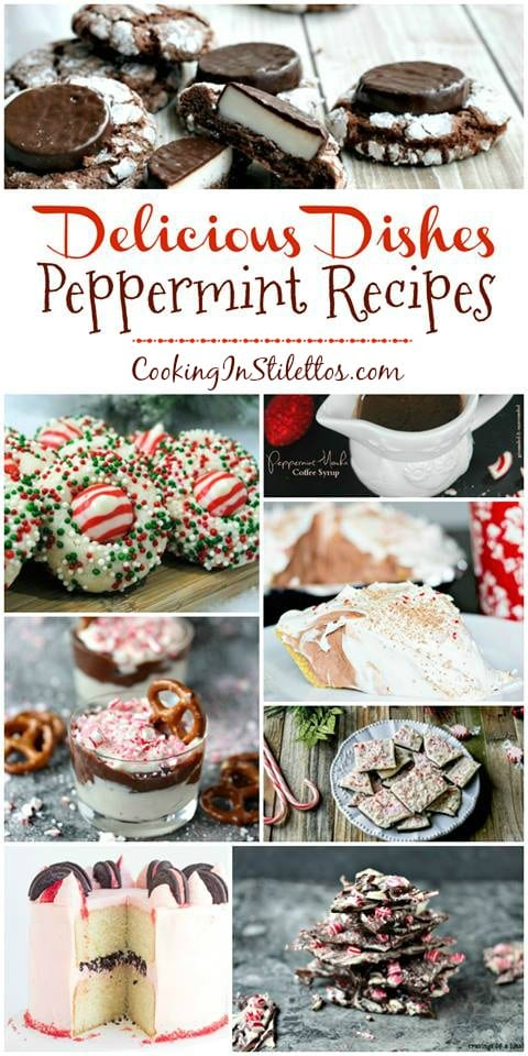 A delicious collection from CookingInStilettos.com spotlighting scrumptious peppermint recipes, perfect for the holidays! Share your favorite recipes at our Delicious Dishes Recipe Party - one of the best recipe link parties!