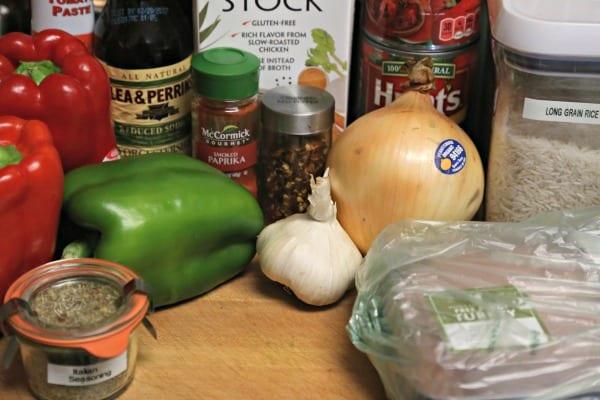 Stuffed Pepper Soup- Ingredients | CookingInStilettos.com