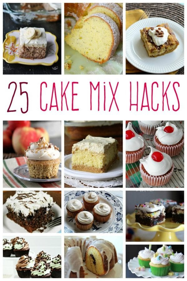 Delicious Dishes Recipe Party - Game Day Recipes - 25 Cake Mix Hacks from Kids Activities Blog | CookingInStilettos.com