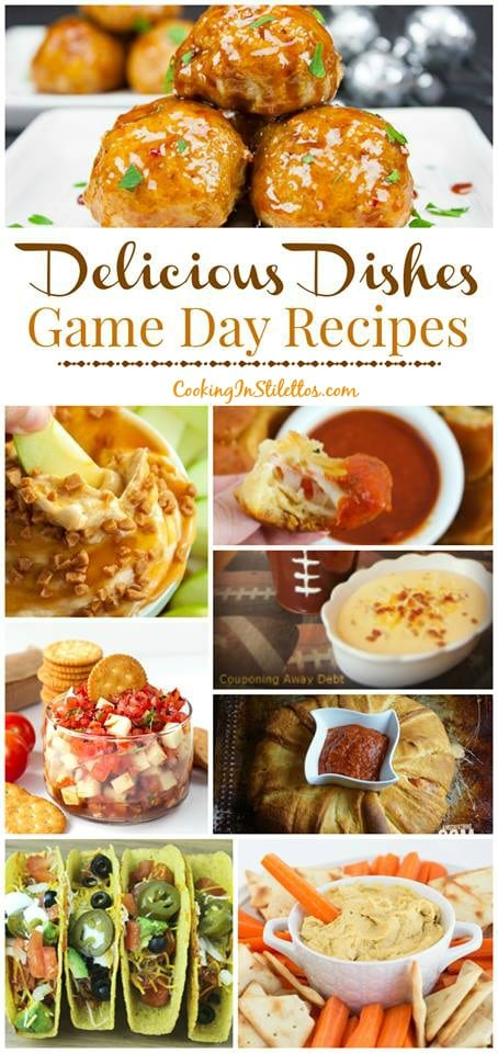 Get ready for the Big Game with the best Game Day Recipes and share your favorite recipes at the Delicious Dishes Recipe Party! | Game Day | Tailgate Recipe | The Big Game | Football Recipe