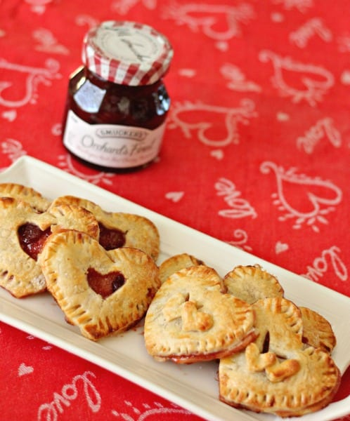 Delicious Dishes Recipe Party - Berry Recipes - Mini Cherry Hand Pies from Clever Housewife | CookingInStilettos.com