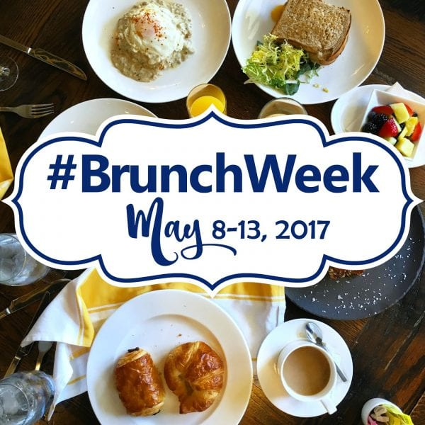 We are sharing the details on all things #BrunchWeek 2017 on CookingInStilettos.com including a giveaway just for you from our fabulous sponsors.  Win prizes perfect for Mother's Day!  | Giveaway | Brunch | Mother's Day | Foodie